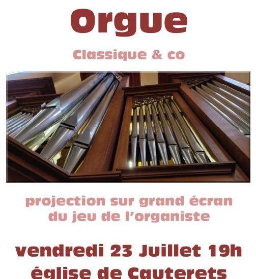 Concert Orgue du 23 Juillet 2021