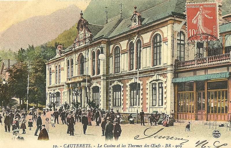 Casino de Cauterets Carte Postale